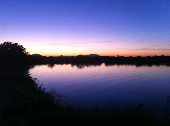 The Tri-Cities has lots of river access, and since it is relatively flat, you can get some fantastic late night sunsets on warm summer evenings. I always liked this shot because of the color reflecting on the Columbia River.