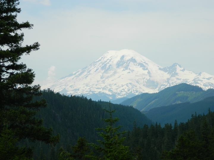 This is another view that may not be familiar to a lot of Western Washington folks. This was shot from a viewpoint on the west side of White Pass. (Photo by Veronica Craker)