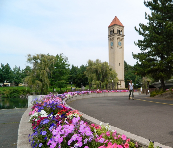 The Great Northern Clock Tower was built in 1902 and still looms over the city's skyline today.