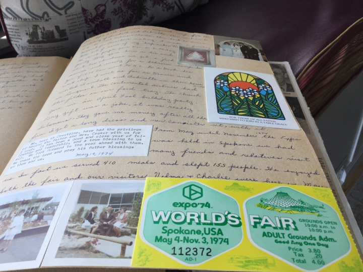 Donald and Lydia Craker, Craig's grandparents, attended the 1974 World's Fair in Spokane.