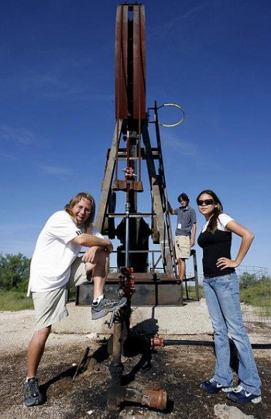 There are pump jacks everywhere in Odessa, which makes sense since the Black Gold is the lifeblood of the town and region.