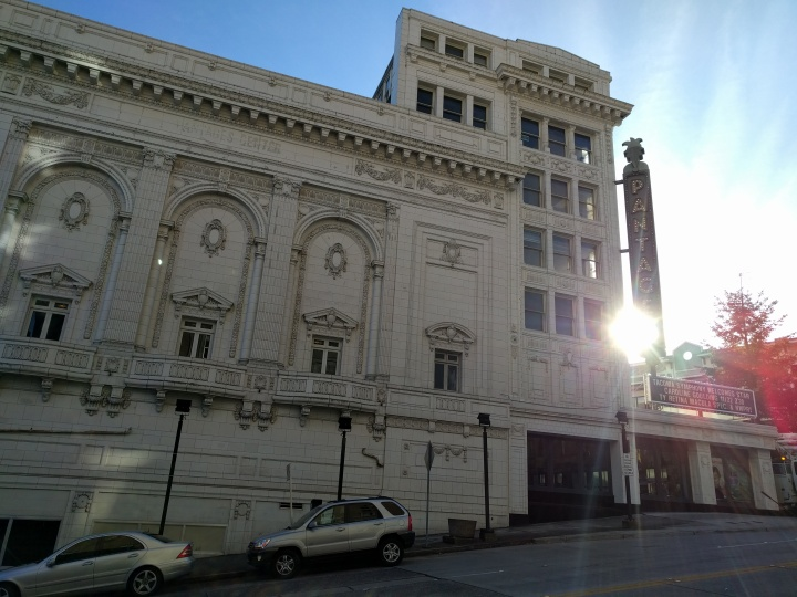 The historic Pantages Theater in downtown Tacoma.