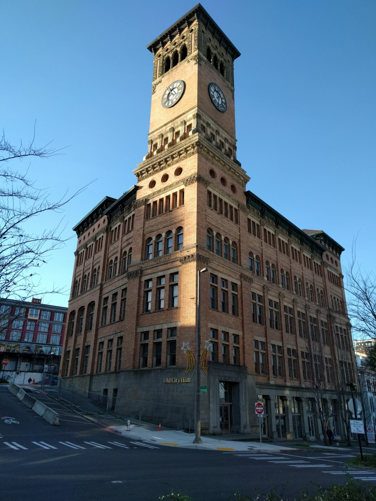 Old City Hall in downtown Tacoma is one of my favorite buildings. So stately.