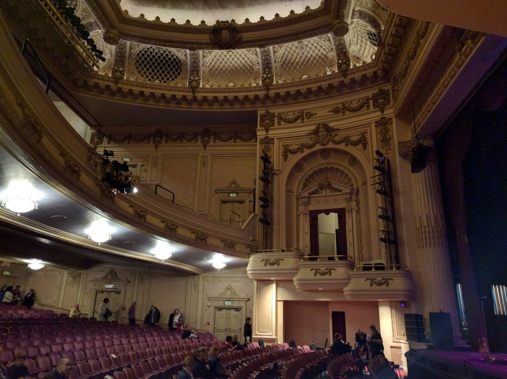 Pantages Theater in downtown Tacoma is a treat. A stunning venue built in 1918.
