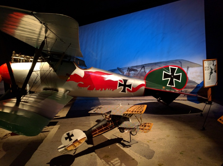 One of the coolest parts of the Museum of Flight is that it has aircraft from both sides of the war, not just the USA's side.