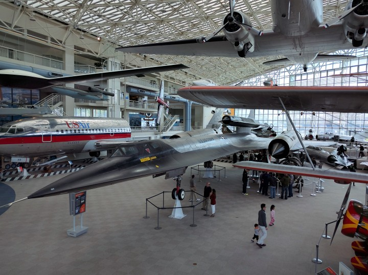 This M-21 is one of only two built and the only one surviving. It is the precursor to the SR-71 Blackbird.