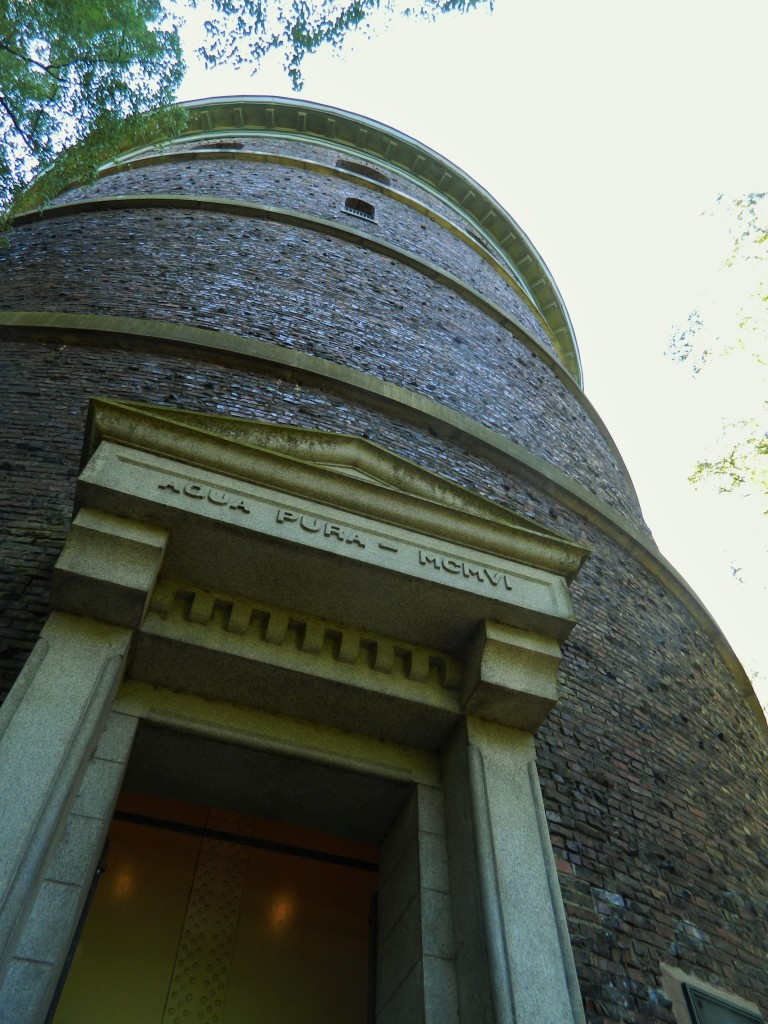 The historic Volunteer Park water tower was built in 1906. You can climb 107 steps to the top for 360-degree views of the surrounding city.