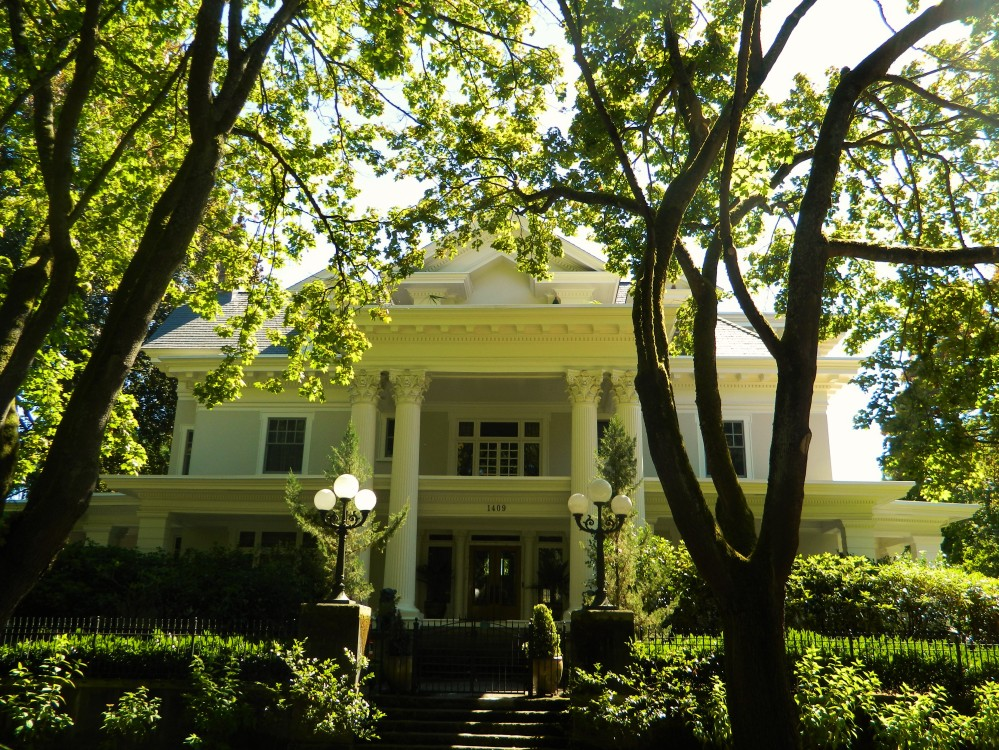 One of the stunning houses located near Volunteer Park in Seattle's Capitol Hill neighborhood.